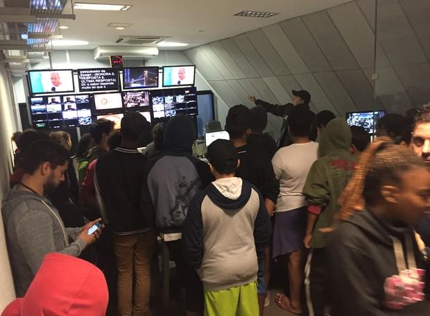 Suíte foi um dos locais conhecidos pelos estudantes  (Foto: RBS TV/Divulgação)