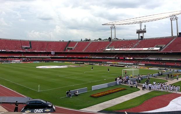 estádio Morumbi jogo São Paulo (Foto: Marcos Guerra)