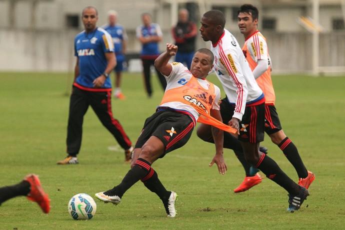 Anderson Pico, treino Flamengo, Ninho (Foto: Gilvan de Souza / Flamengo)