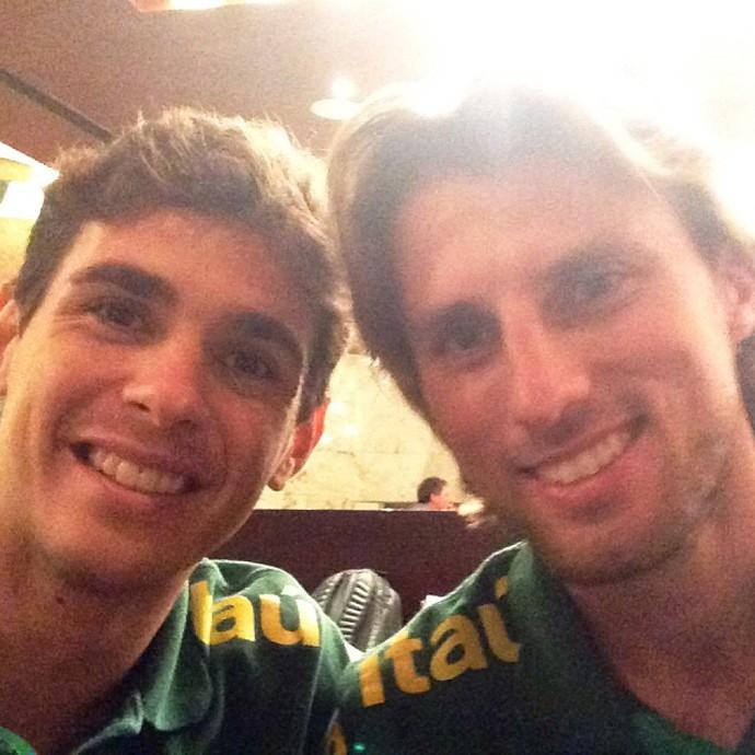 FUTEBOL - Oscar e Henrique (Foto: Reprodução / Instagram)