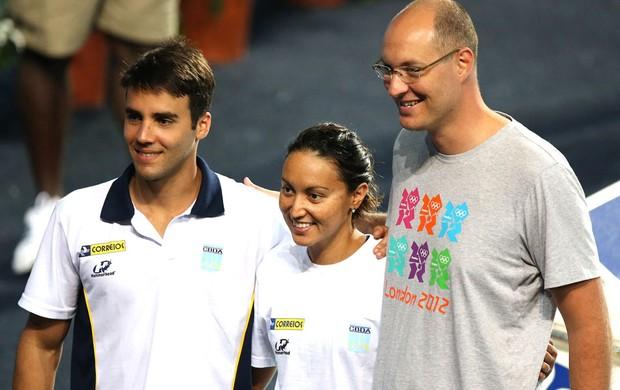 Daniel Cady, marido de Ivete Sangalo, no Mundial de Barcelona (Foto: Satiro Sodré / SSPress)
