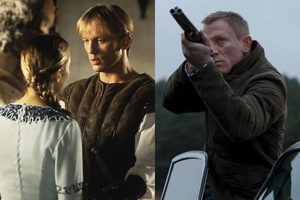 Até o James Bond já teve que fazer filmes infantis! No início de sua carreira, em 1995, Daniel Craig interpretou um cavaleiro em 'Um Garoto na Corte do Rei Arthur'. (Foto: Divulgação)