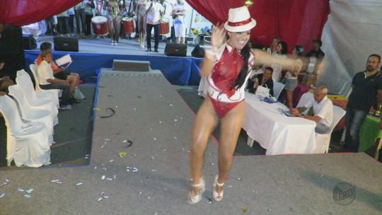 Rainha e Rei Momo do carnaval são escolhidos em Poços de Caldas, MG