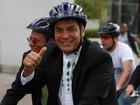 Rafael Correa inscreve candidatura à reeleição como presidente do Equador