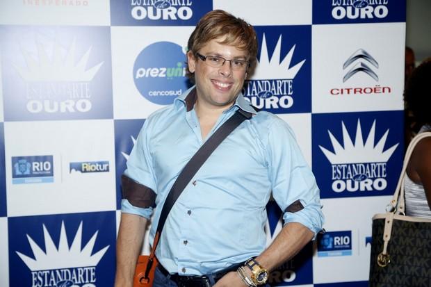 Bruno Chateaubriand no prêmio Estandarte do Ouro no Rio (Foto: Roberto Filho/ Ag. News)