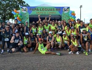 Grupo Papa Léguas-RR se prepara para corrida em Manaus (AM) (Foto: Arquivo Pessoal)