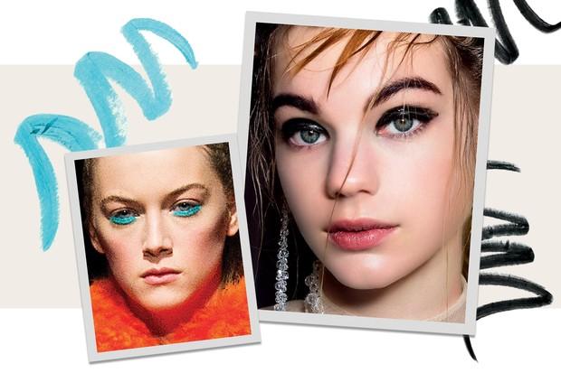 Beleza de Marques Almeida e Simone Rocha (Foto:  Imaxtree, Condé Nast Digital Archive, Thinkstock e Divulgação     )