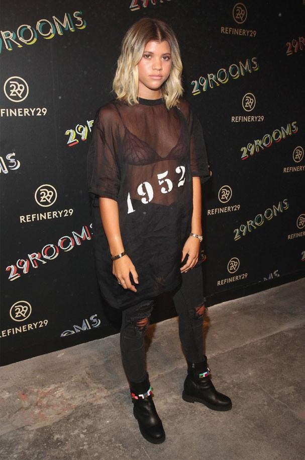 A filha de Lionel Richie participa de evento de moda, em NY (Foto: Astrid Stawiarz/Getty Images )