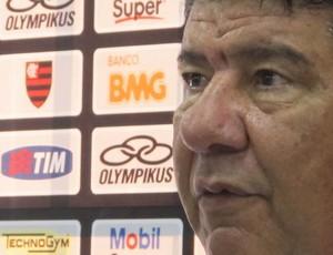 Joel coletiva (Foto: Richard Fausto de Souza / Globoesporte.com)