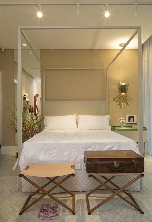 Decoração de quartos na mostra Quartos & Etc em Vitória (Foto: Evelyn Müller / Divulgação)