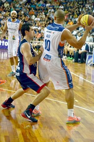 Bauru Basquete x Franca, pela semifinal do Paulista (Foto: Henrique Costa / Bauru Basket)