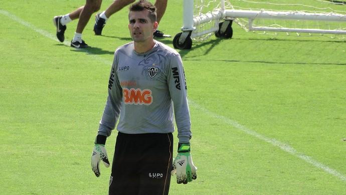 Treino Atlético MG Victor (Foto: Gabriel Duarte)