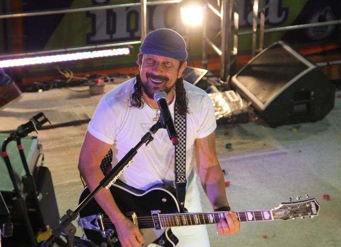 Bell Marques ao vivo (Foto: Luanna Gondim/ Gshow)