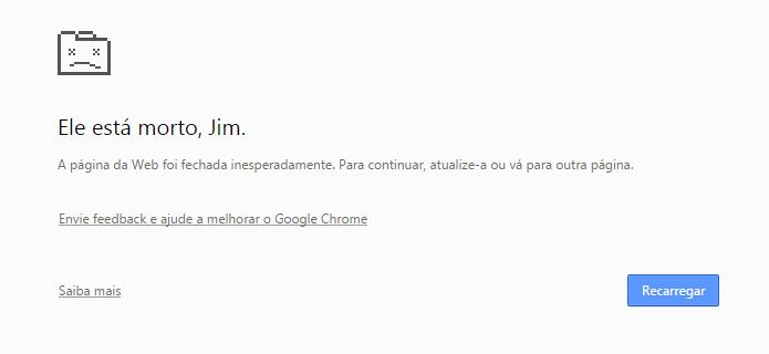 Veja como resolver o problema de falta de memória do Chrome (Foto: Reprodução/Helito Bijora)