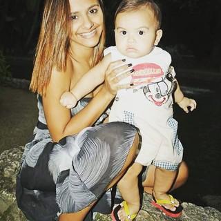 Renatinha e Kaíque (Foto: Reprodução/Instagram)