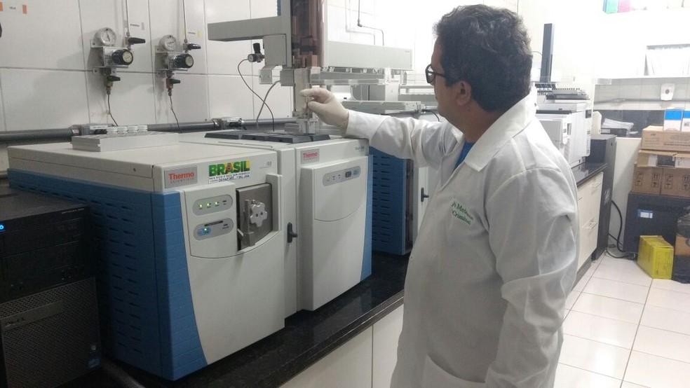 Perícia identificou droga apreendida pela primeira vez no RN (Foto: Divulgação/ Itep)