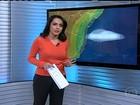 Frente quente provoca chuva no Sul do Rio Grande do Sul nesta terça (20)