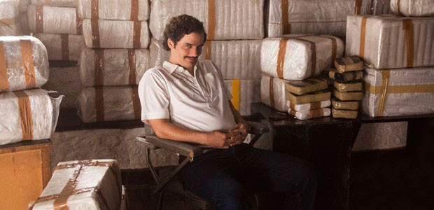 Wagner Moura em Narcos (Foto: Daniel Daza/Netflix)