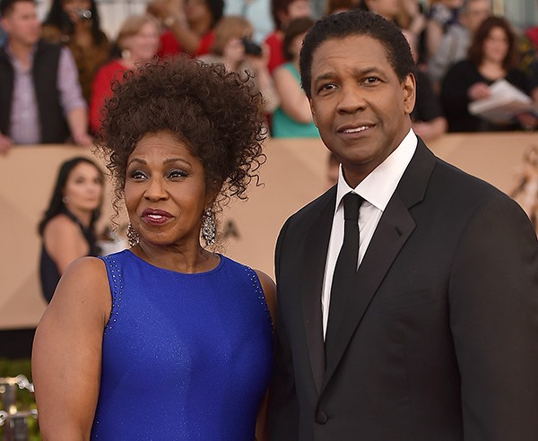Pauletta e Denzel Washington (Foto: Getty Images)