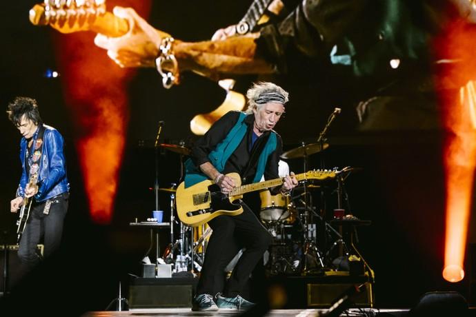 Keith Richards continua habilidoso como sempre (Foto: Renaud Philppe)