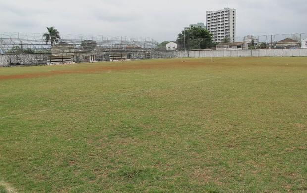 Estádio Mansueto Pierotti São Vicente  (Foto: Bruno Gutierrez / Globoesporte.com)