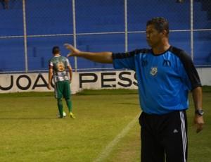 Ramiro Sousa, treinador do Miramar (Foto: Hévilla Wanderley / GloboEsporte.com/pb)