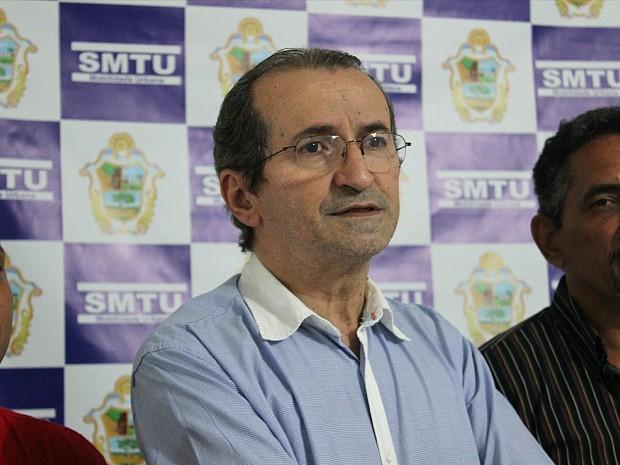 Presidente do SMTU, Pedro Carvalho (Foto: Romulo de Sousa/G1 AM)