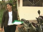 Mulher tem placa de moto clonada e acumula R$ 6 mil em multas