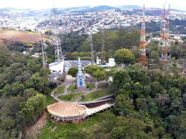 Morro do Cristo Juiz de Fora (Foto: Carlos Mendonça/Prefeitura Juiz de Fora)