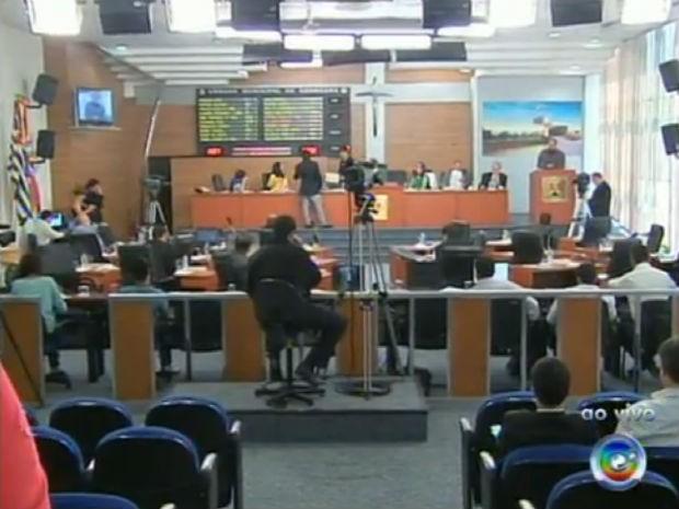 Vereadores de Sorocaba aprovam criação de novos cargos na Santa Casa (Foto: Reprodução/TV TEM)