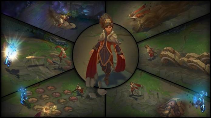 Taliyah é uma maga de controle capaz de se posicionar bem em uma batalha (Foto: Divulgação)