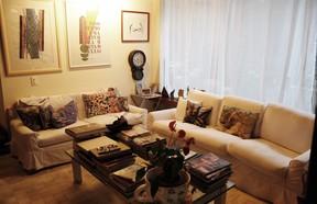 Sala preferida de Rosamaria Murtinho para relaxar (Foto: Marcos Serra Lima / EGO)