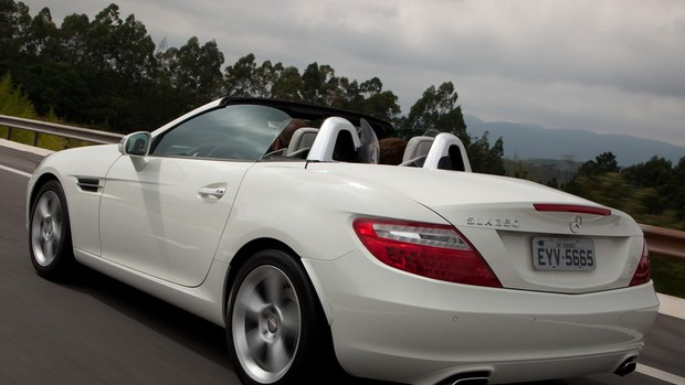 Veja fotos do Mercedes-Benz SLK 250