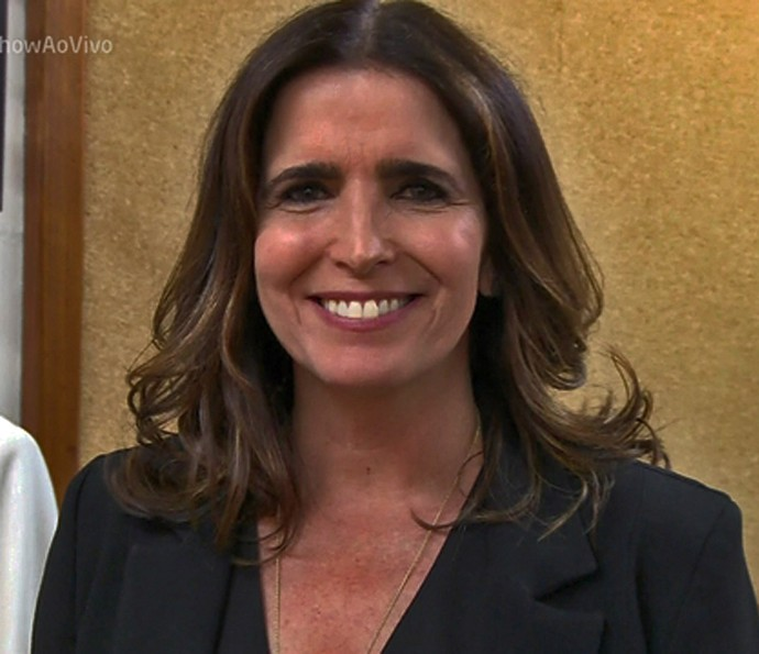 Malu Mader fala do figurino de Rebeca, em 'Haja Coração' (Foto: TV Globo)