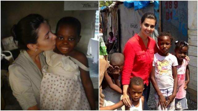Tatyana Jorge - Haiti - Nigéria (Foto: Arquivo Pessoal)