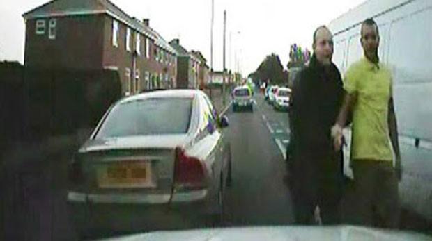 Jordan Winn culpou cão ao ser flagrado em excesso de velocidade (Foto: Reprodução/YouTube/Press Association)