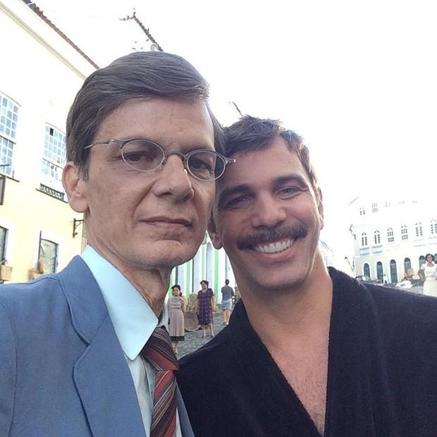 Duda Ribeiro e Marcelo Faria (Foto: Reprodução/Instagram)