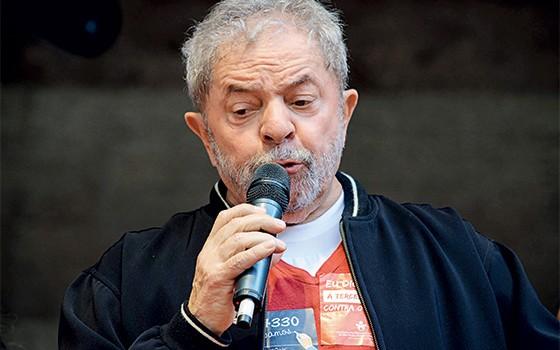 O ex-presidente Luiz Inácio Lula da Silva (Foto: Peter Leone/Futura Press/Estadão Conteúdo)