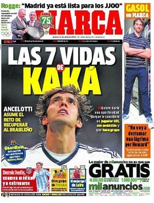 kaka capa marca (Foto: Reprodução/Marca)