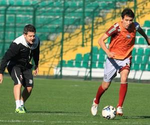 Argel e Pablo Figueirense (Foto: Luiz Henrique/Figueirense FC)