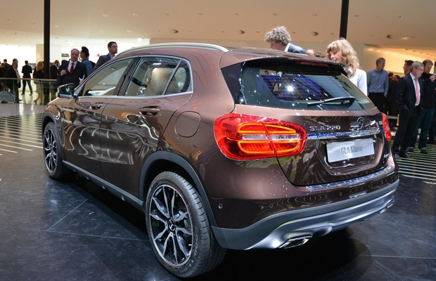 Mercedes-Benz GLA (Foto: Newspress)