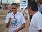 'Partido é apenas uma ferramenta do movimento', diz Marina Silva