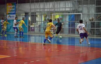 Copa Rede Amazônica de Futsal tem dois jogos pela semifinal nesta quinta