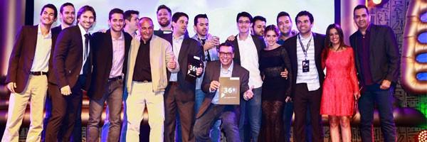Aggência SIC, de Uberlândia foi uma das vencedoras da noite (Foto: Mauro Marques)