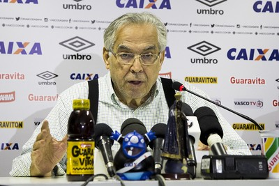 Eurico Miranda presidente do Vasco (Foto: Paulo Fernandes / vasco.com.br)
