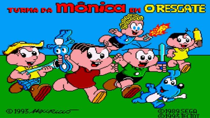 Turma da Mônica em O Resgate era um dos games brasileiros com mais ação e aventura (Foto: Reprodução/Alvanista)