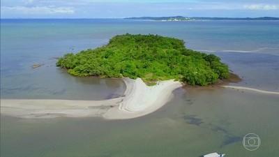 Baía de Todos-os-Santos (Foto: Rede Globo)