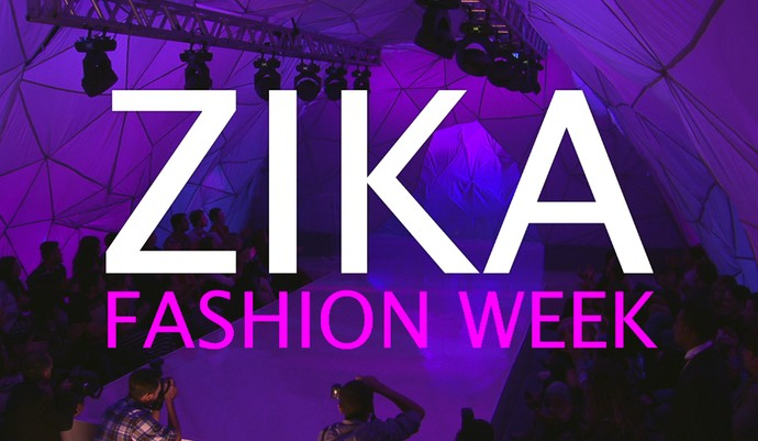 Zika Fashion Week (Foto: TV Globo)