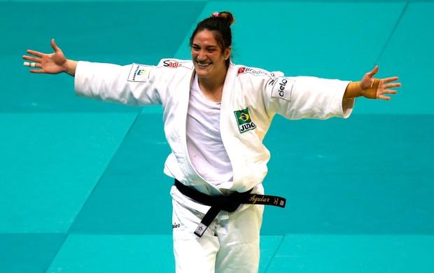 Mayra Aguiar Mundial de judô Bronze (Foto: Agência Reuters)