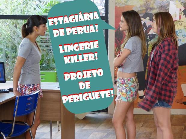 Kika, Fatinha e Lia (Foto: Malhação / TV Globo)